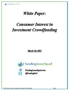 Consumer Interest in Crowdfunding - Funding Launchpad