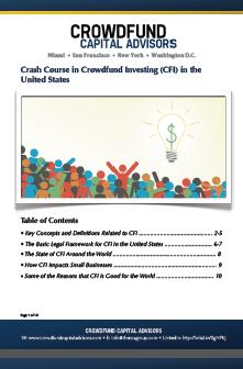 Click here to download a Crash Course on Crowdfund Investing
