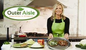 Outer Aisle Gourmet Cooks Up Tasty Gluten-Free, Low-Carbohydrate Veggie Recipes for Athletes, Celiacs, Diabetics, Dieters and Vegetarians