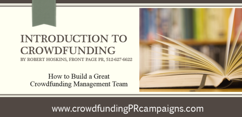 How to Build a Great #US #Crowdfunding Management Team