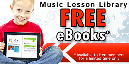 LearnToPlayMusic's Free Ebook and New Digital Music Teaching Platform