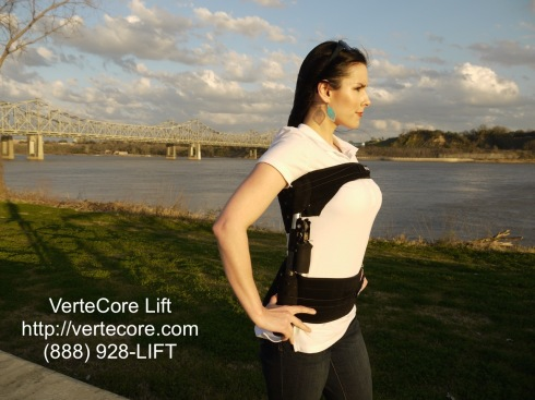 VerteCore Lift: Affordable, Comfortable, Convenient, Mobile Spinal Decompression for Lower Back Pain