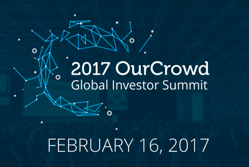Israel to Host more than 5,000 at World's Largest Equity Crowdfunding Conference on February 16, 2017