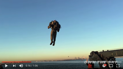 JetPack Aviation Accepting Equity Crowdfunding Investments for Commercial JetPack Company