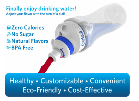 Cirkul Extends Successful Indiegogo Campaign for its New Patented Water Bottle - Surpasses $130,000