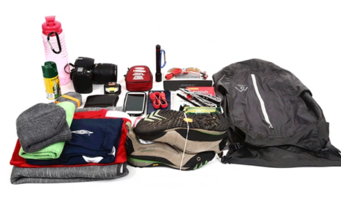 Daypack Kickstarter Crowdfund Campaign Offers Tough, lightweight, 100% waterproof 24-liter pack compresses smaller than a soda can for storage