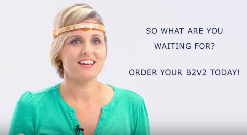 New B2v2 headband helps relax and rebalance brain waves to reduce stress, improve quality of sleep and enhance emotional well-being