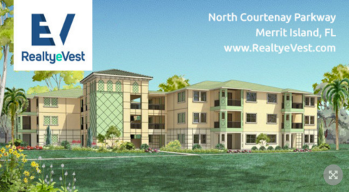 RealtyeVest Commercial Real Estate Equity Crowdfunding Investment Opportunity - North Courtnay Parkway Merrit Island, Florida