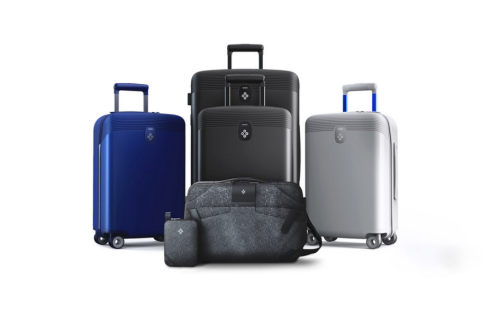 The world's first smart luggage system travelers avoid baggage fees for overweight luggage, breeze through airport security and keeps bags protected against theft
