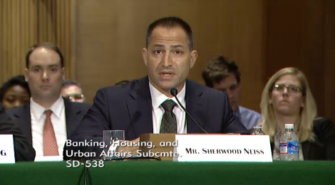 Sherwood Neiss, Crowdfunding Capital Advisors, testifies before the SEC