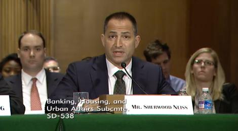 Sherwood Neiss, Crowdfunding Capital Advisors, testifies before the SEC